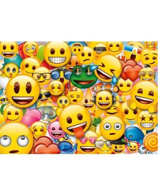 Puzzle de podea Ravensburger - Emoji, 125 piese XXL (09788)