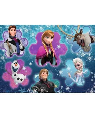 Puzzle de podea Ravensburger - Frozen, 24 piese XXL (05437)