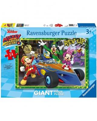Puzzle de podea Ravensburger - Mickey, 24 piese XXL (05524)