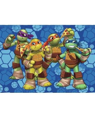 Puzzle de podea Ravensburger - Ninja Turtles, 24 piese XXL (05470)