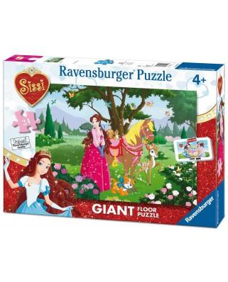 Puzzle de podea Ravensburger - Sissi, 24 piese XXL (05487)