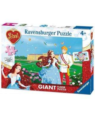 Puzzle de podea Ravensburger - Sissi, 60 piese XXL (05488)