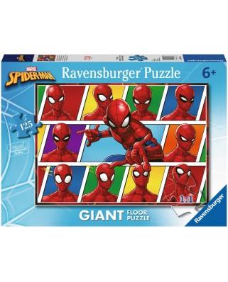 Puzzle de podea Ravensburger - Spiderman, 125 piese XXL (09790)