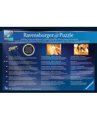 Puzzle fosforescent Ravensburger - Starline - Eiffel Tower, 500 piese (14898)