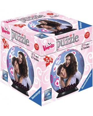 Puzzle glob Ravensburger - Chica Vampiro, 54 piese (79784-11918-02)