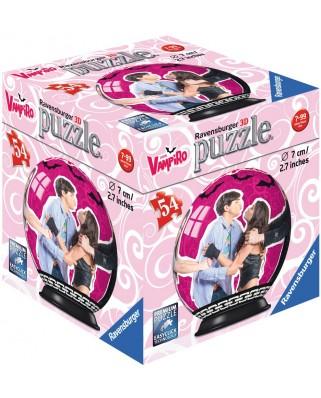 Puzzle glob Ravensburger - Chica Vampiro, 54 piese (79784-11918-04)