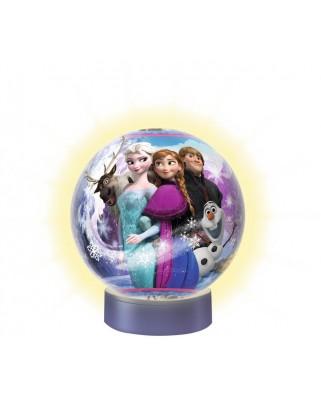 Puzzle glob Ravensburger - Frozen, 72 piese, cu LED (12183)
