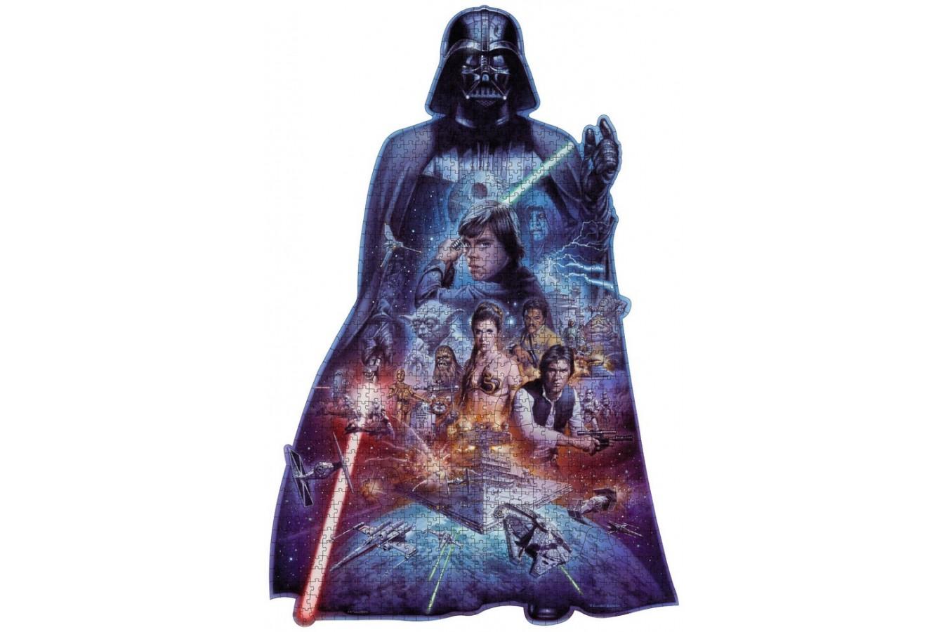 Puzzle Ravensburger - Star Wars - Silueta, 1.000 piese (16158)