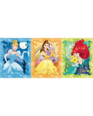 Puzzle panoramic Ravensburger - Disney Princess, 200 piese (12825)