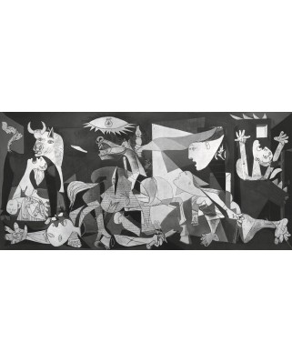 Puzzle panoramic Ravensburger - Pablo Picasso: Guernica, 2.000 piese (16690)