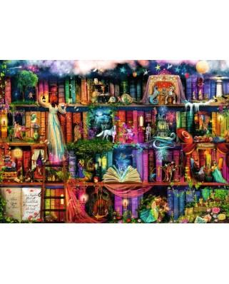 Puzzle Ravensburger - Aimee Stewart: Aimee Stewart - Magical Fairy Tale, 1.000 piese (19684)