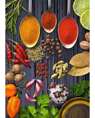 Puzzle Ravensburger - All kinds of Spices, 1.000 piese (19794)