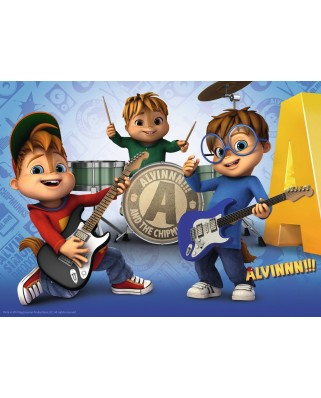 Puzzle Ravensburger - Alvin and the Chipmunks, 100 piese XXL (10712)