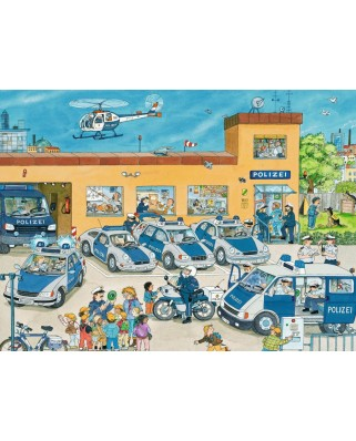 Puzzle Ravensburger - At the Police Station, 100 piese XXL (10867)
