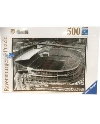Puzzle Ravensburger - Atletico de Madrid, Estadio Vicente Calderon, 500 piese (14822)