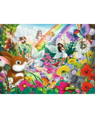 Puzzle Ravensburger - Beautiful Fairy Forest, 150 piese XXL (10044)