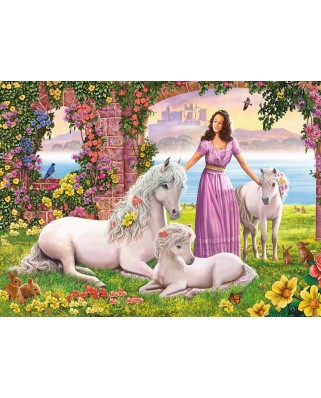 Puzzle Ravensburger - Beautiful Princess, 150 piese XXL (10008)