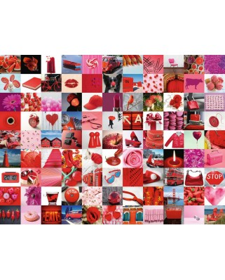 Puzzle Ravensburger - Beautiful Red Things, 1500 piese (16215)