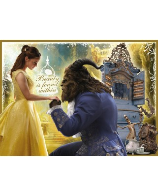 Puzzle Ravensburger - Beauty and the Beast, 100 piese XXL, strălucitor (10960)