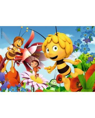 Puzzle Ravensburger - Bee Maja, 2x12 piese (07594)