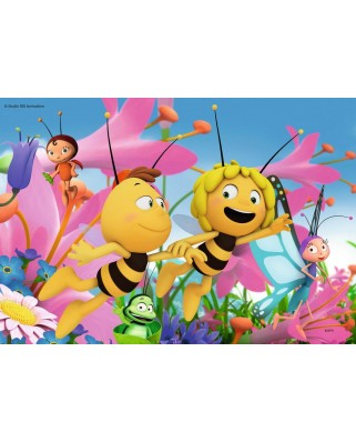 Puzzle Ravensburger - Bee Maja, 2x24 piese (09093)