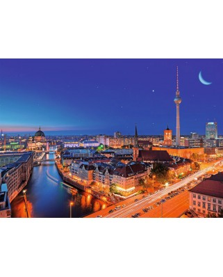 Puzzle Ravensburger - Berlin, 1.000 piese (19455)