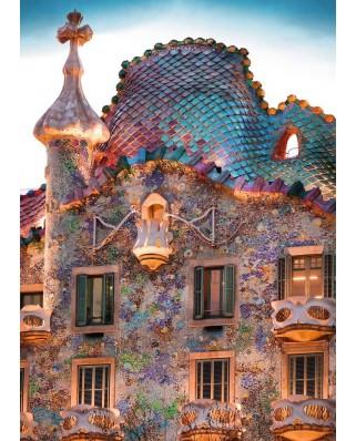Puzzle Ravensburger - Casa Batlló, Barcelona, 1.000 piese (19631)