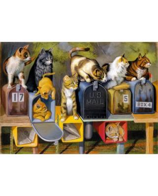 Puzzle Ravensburger - Cat's Got Mail, 300 piese XXL (13562)