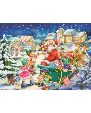 Puzzle Ravensburger - Christmas, 500 piese (14740)