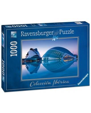 Puzzle Ravensburger - Ciudad de las artes, Valencia, 1.000 piese (19617)
