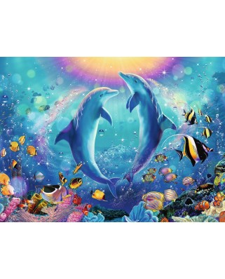 Puzzle Ravensburger - Dance of the Dolphins, 500 piese (14811)