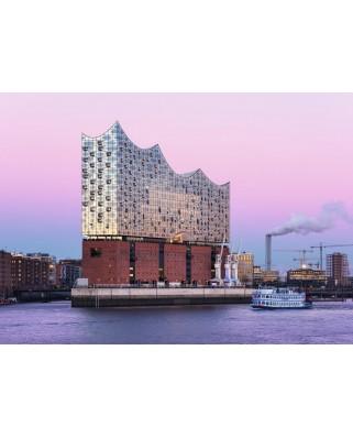 Puzzle Ravensburger - Deutschland Collection - Elbphilharmonie Hamburg, 1.000 piese (19784)