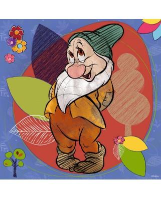 Puzzle Ravensburger - Disney - Bashful, 500 piese (15240)