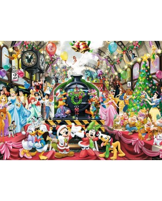 Puzzle Ravensburger - Disney - Christmas Train, 500 piese (14739)