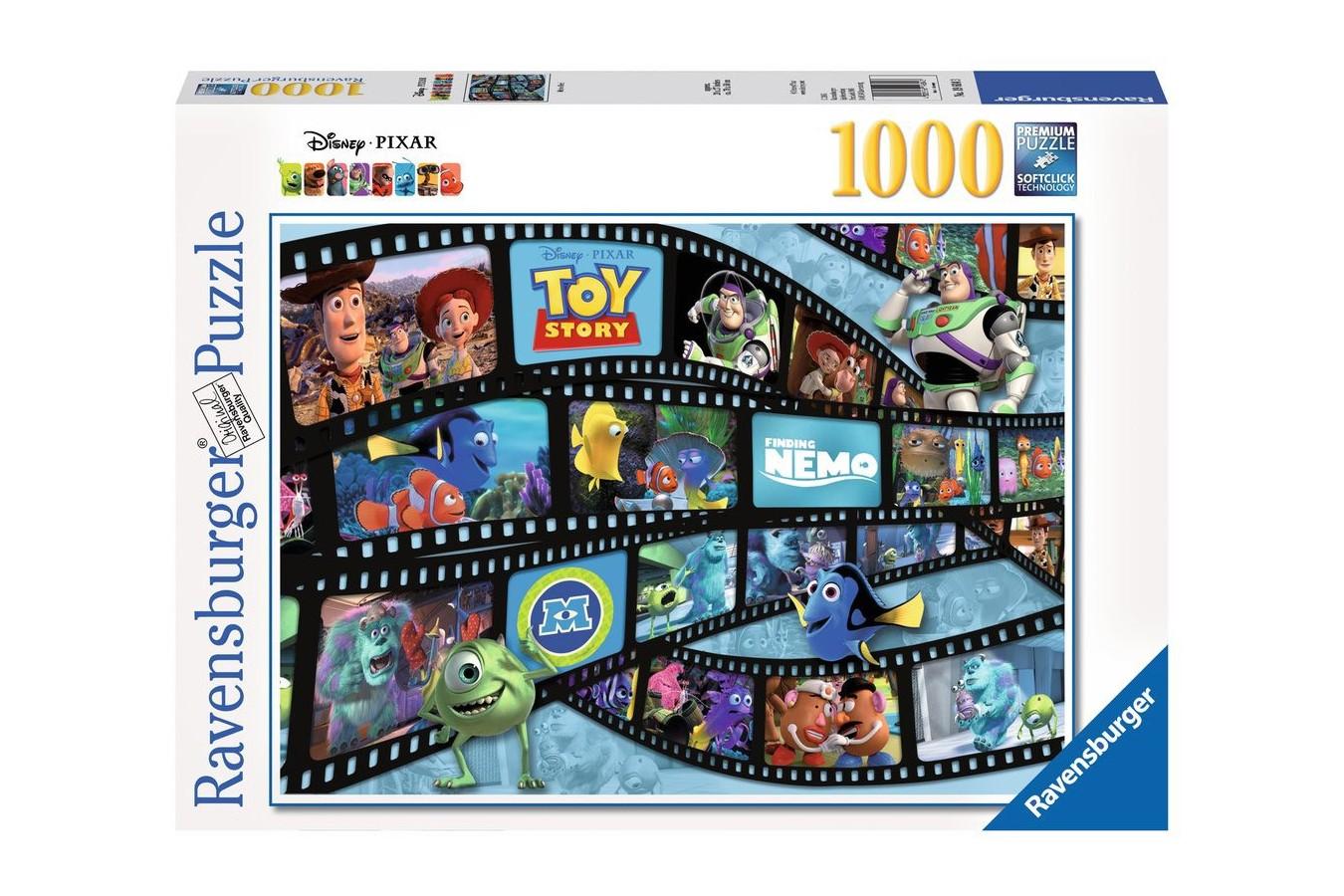 Puzzle Ravensburger - Disney - Pixar, 1.000 piese (19604)