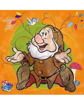 Puzzle Ravensburger - Disney - Sneezy, 500 piese (15241)