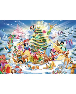 Puzzle Ravensburger - Disney Christmas, 1.000 piese (19287)