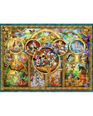 Puzzle Ravensburger - Disney Family, 500 piese (14183)