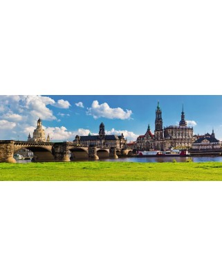 Puzzle Ravensburger - Dresden Canaletto Blick, 1.000 piese (19619)