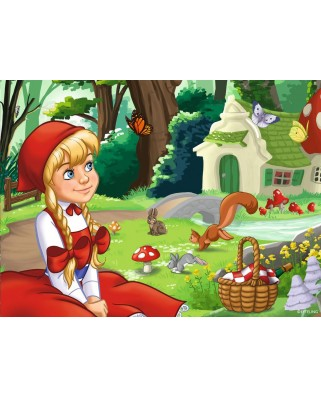 Puzzle Ravensburger - Enchanting Fairytale Forest, 12/16/20/24 piese (06945)