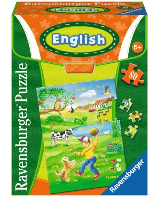 Puzzle Ravensburger - English, 80 piese (07506)