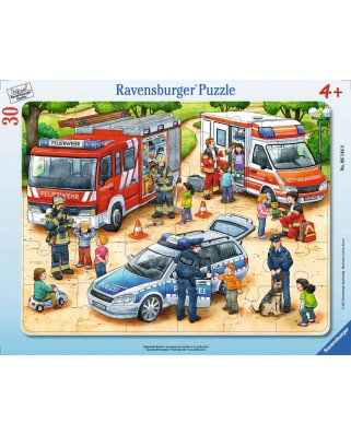 Puzzle Ravensburger - Exciting Professions, 30 piese (06144)