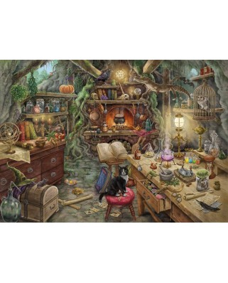 Puzzle Ravensburger - Exit Puzzle - Hexenkuche (in German), 759 piese (19952)