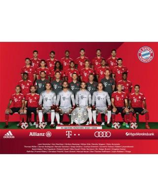 Puzzle Ravensburger - FC Bayern Saison 2018/19, 1.000 piese (19879)