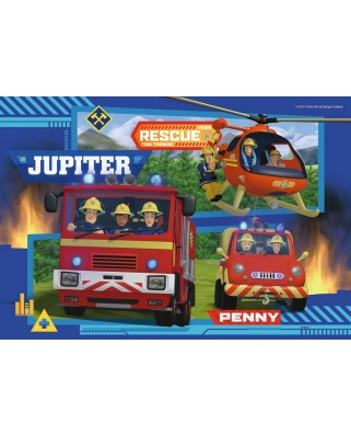 Puzzle Ravensburger - Fireman Sam, 2x24 piese (07826)