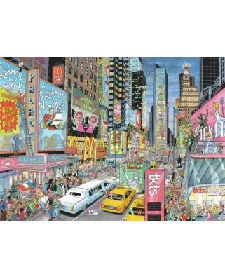 Puzzle Ravensburger - Fleroux - New York, 1.000 piese (19787)
