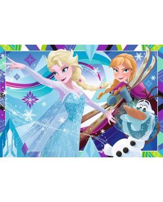 Puzzle Ravensburger - Frozen, 2x12 piese (07621)