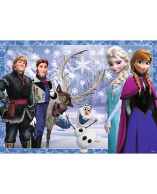 Puzzle Ravensburger - Frozen, 4x42 piese (07025)