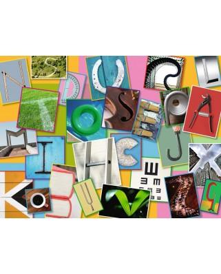 Puzzle Ravensburger - Funny Alphabet, 100 piese XXL (10761)