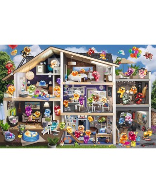Puzzle Ravensburger - Gelini - Dollhouse, 5.000 piese (17434)